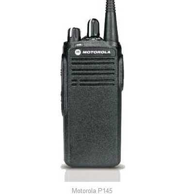Motorola P145 UHF, 435-470 MHz mit 16 Kanälen
