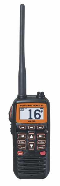 Das HX210E Marinefunkgerät Frontansicht