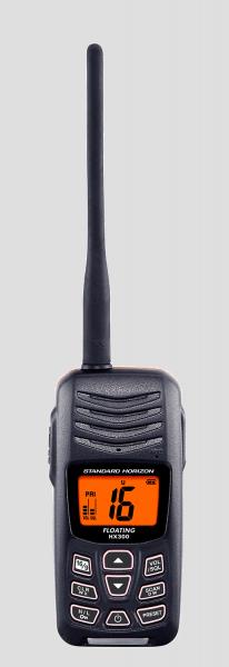Das HX300E Marinefunkgerät Frontansicht