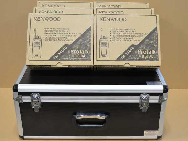 Koffer für 6 Funkgeräte